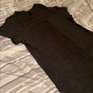 Charcoal Grey Sweater Dress size 14/16